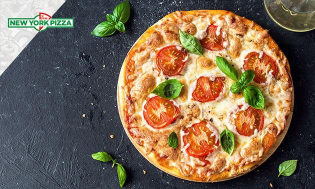 New York pizza naar keuze + blikje fris voor €1,- @ Veghel