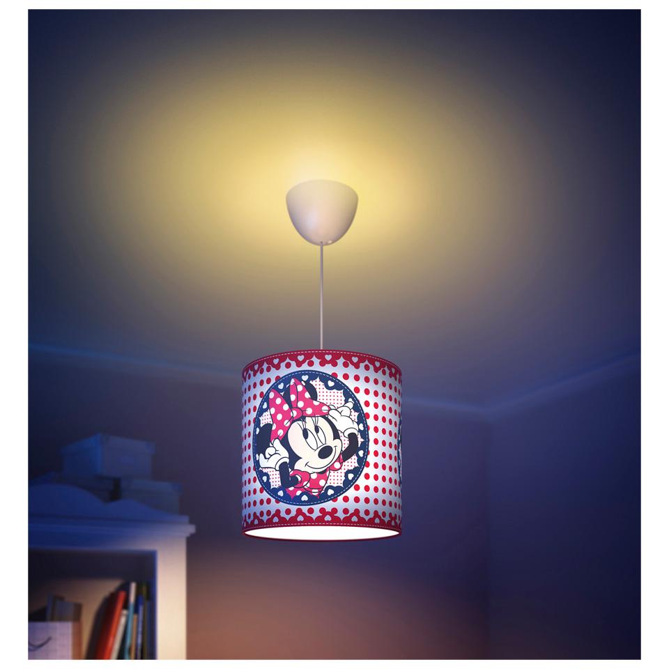 Philips Minnie Mouse Hanglamp / Tafellamp voor €17,50 @ Leen Bakker