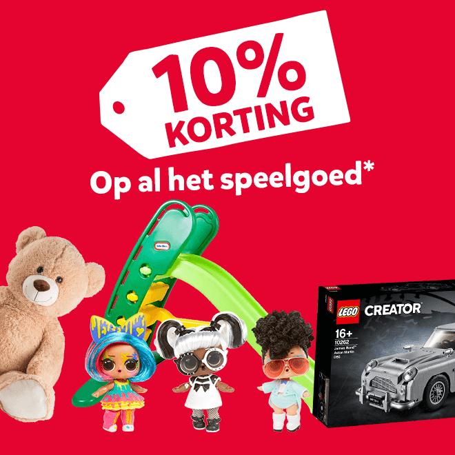 Dit weekend 10% korting op speelgoed vanaf €50 @ Intertoys