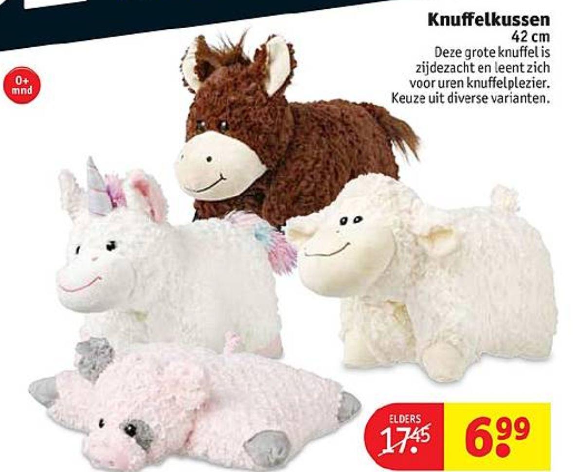 Diverse Knuffelkussens (i.p.v. €17,45) @Kruidvat