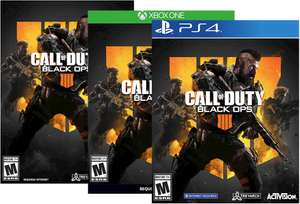 Call of Duty Black Ops 4 PS4 & XBOX ONE slechts €33,61