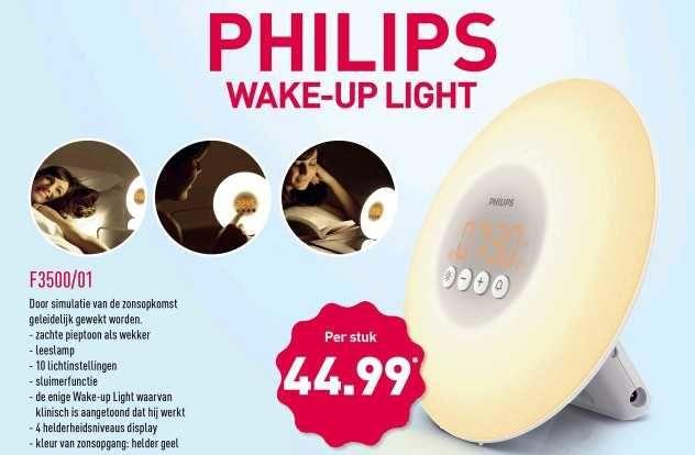 Philips wake-up light F3500/01