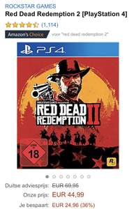 Red Dead Redemption 2 voor €45 bij Amazon