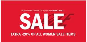 20% EXTRA korting op alle women sale @ We Fashion