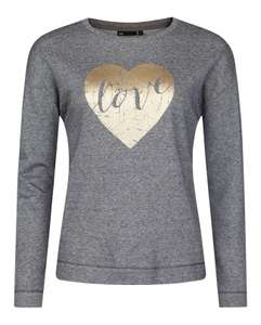 'Love' Sweater - nu €8 @ We Fashion