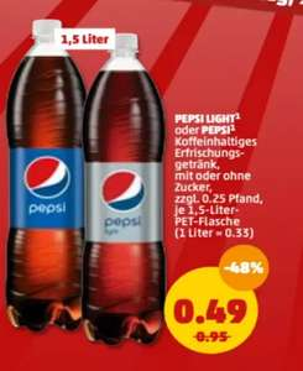 (Grensdeal Duitsland) Pepsi 1,5 liter @Penny