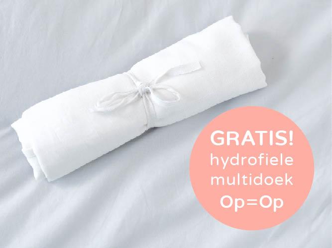 Gratis hydrofiele multidoek @ Negen maanden beurs/Prénatal