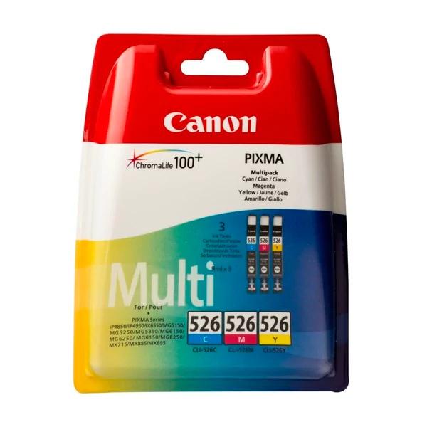 50% korting op Canon C/M/Y Inktcartridges @Kruidvat