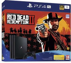 Sony PlayStation 4 Pro Console - incl. Red Dead Redemption 2 - 1 TB €312,79