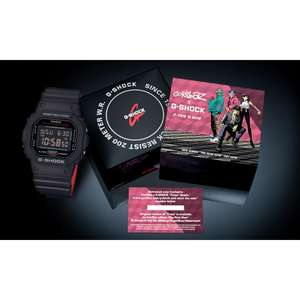 Casio G-Shock Gorillaz horloge voor €68,25 @ Amazon.co.uk