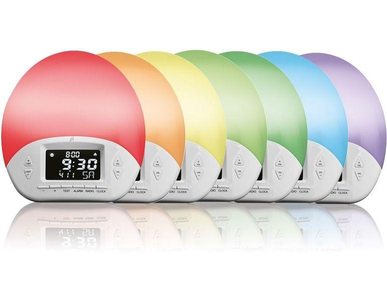 Auriol wakeup light bij de Lidl webshop