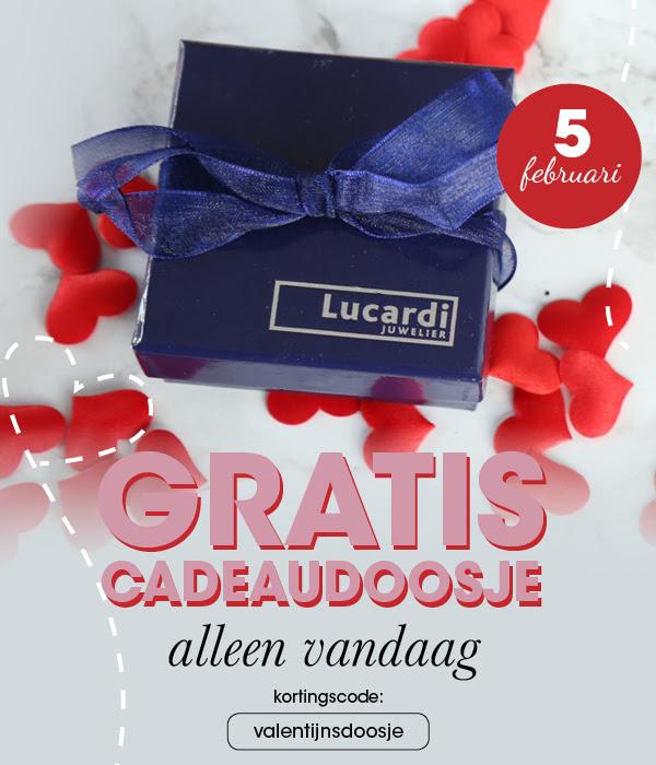 Alleen vandaag: Gratis luxe cadeaudoosje bij je bestelling @ Lucardi