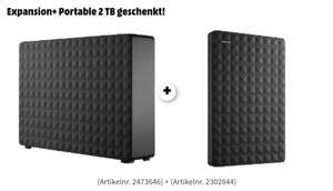 [Grensdeal] Seagate Expansion 8TB + Portable 2 TB