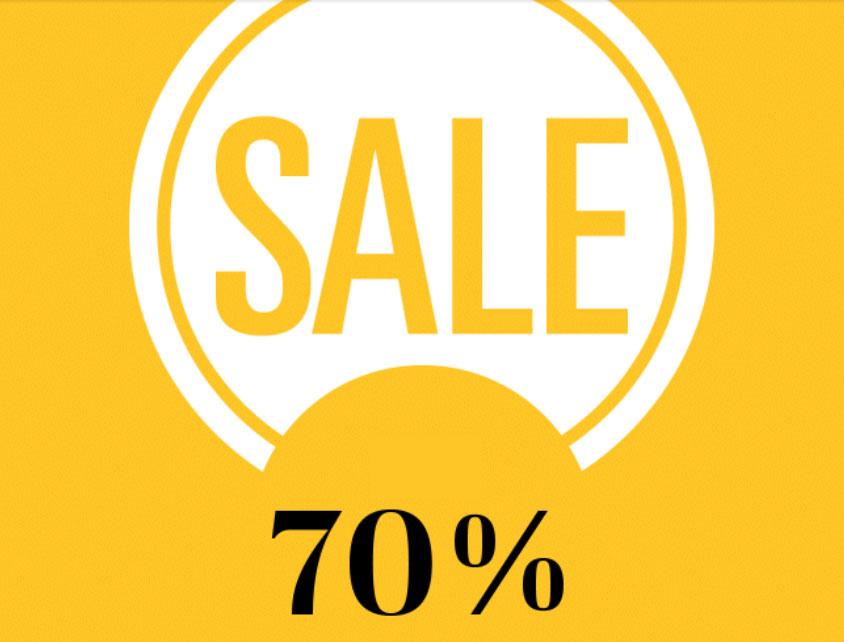 Heel veel sale -70% @ Omoda
