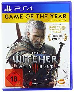 The Witcher 3: Wild Hunt - Game of the Year Edition - [PlayStation 4] @ Amazon.de