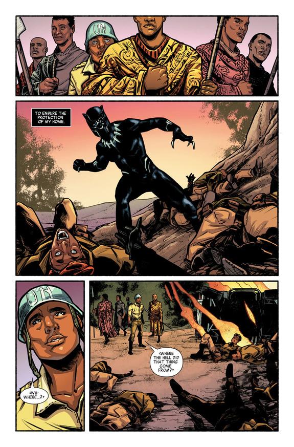 Gratis Engelstalige comics (o.a. Black Panther, Hulk, Avengers) @ Marvel