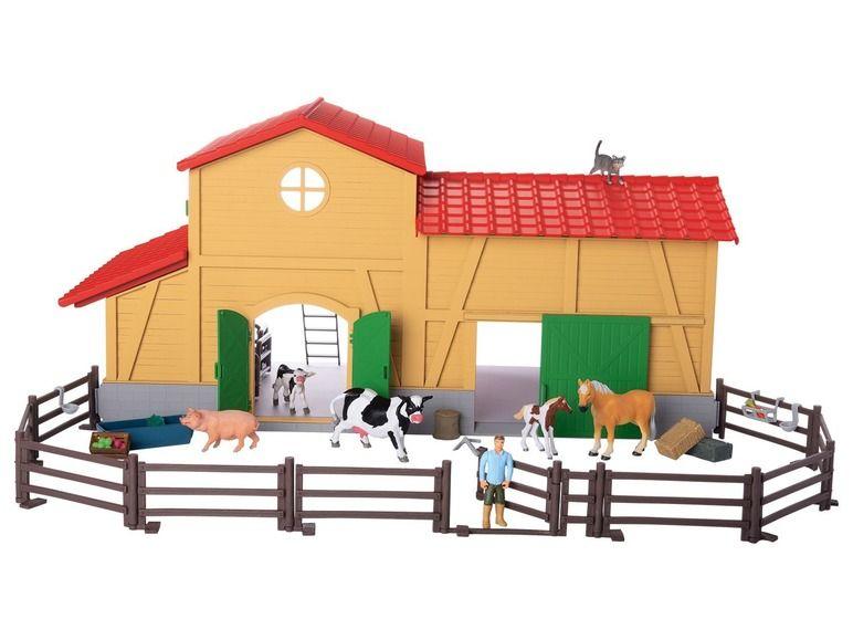 40% korting | PLAYTIVE® JUNIOR Boerderij + paardenstal (i.p.v. €49,99) @Lidl