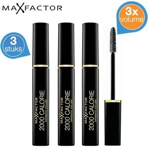 3 stuks Max Factor 2000 Calorie Mascara voor €19,90