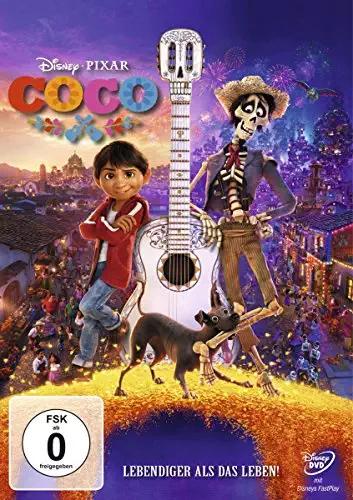 Hoge korting op Pixar DVD & Blu-ray's @Amazon.de