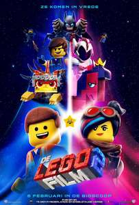 Gratis De LEGO Film 2 Poster @ Intertoys winkel