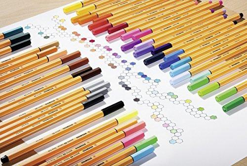 STABILO point 88 - 10 pack - verschillende kleuren @Amazon.de