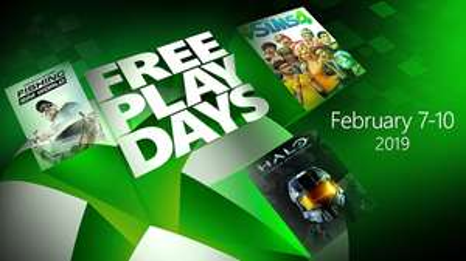 Free Play Days van 7 - 10 febuari @ Xbox One
