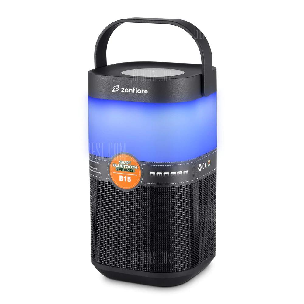 Bluetooth speaker met verlichting voor €17,12 @ Rosegal