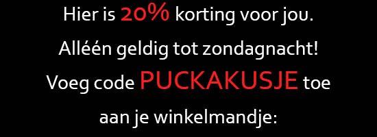 20% korting bij puckababy