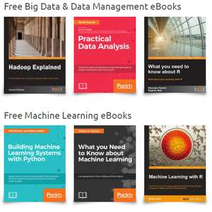 Gratis Ebooks over programmeren, Big Data, App/Web Development @ Packt