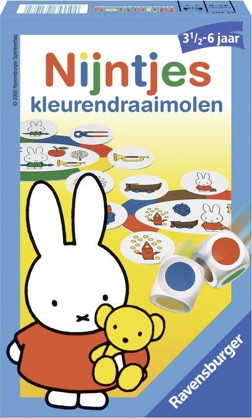 Ravensburger - Nijntjes kleurendraaimolen pocketspel + gratis verzending @Bol