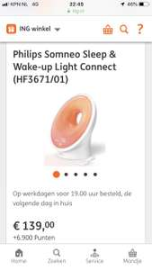 Philips Somneo Connected HF3671/01 €139,- ipv €219