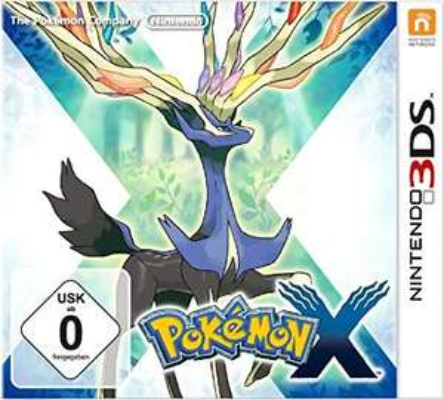Pokemon X voor 3ds @Amazon.de