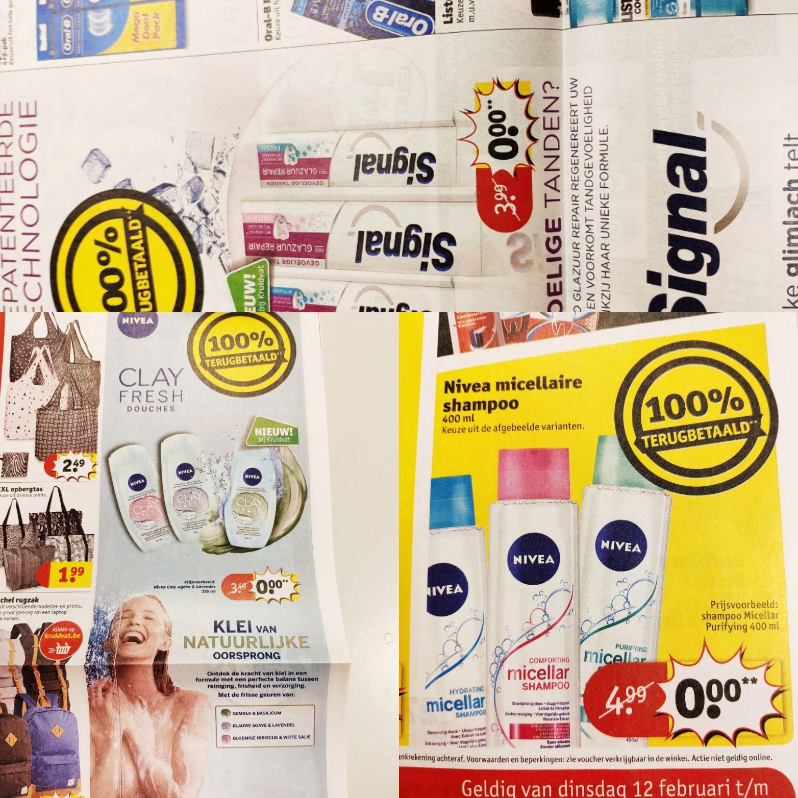 [Grensdeal BE] Gratis producten bij Kruidvat België