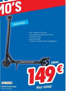 [Grensdeal BE] Denver SCO-65100 E-Scooter bij Carrefour