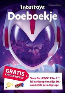 Gratis Doeboekje van De LEGO® Film 2™ @Intertoys