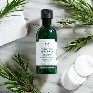 Tea Tree, Body shop