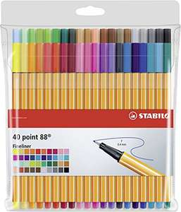 Stabilo Point 88 Fineliners 40 stuks @Amazon.de
