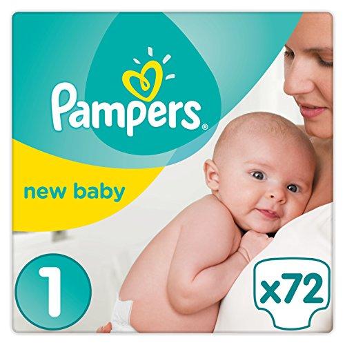 Pampers Premium Protection 72 stuks maat 1 @Amazon.de