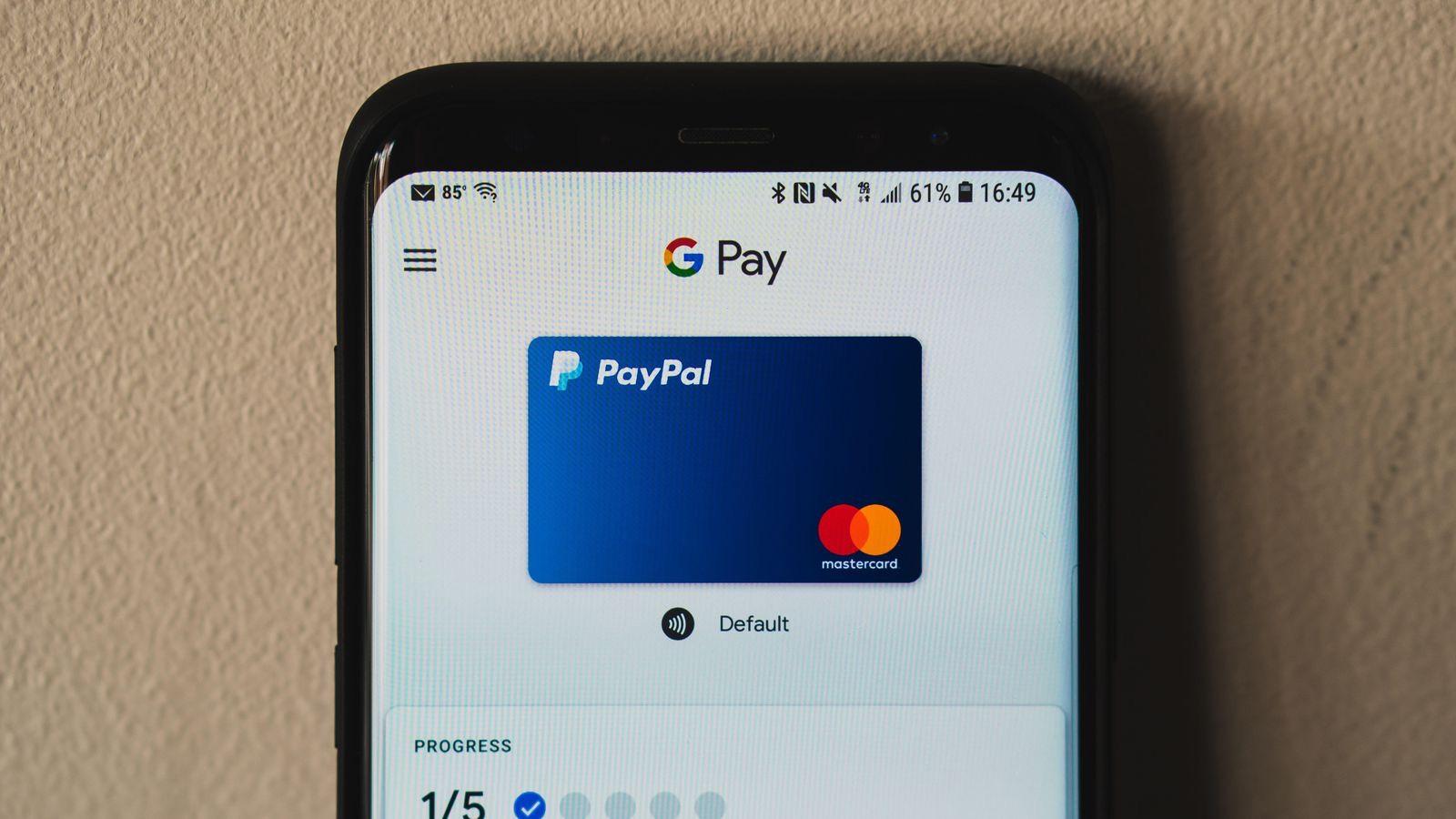 €10 PayPal-Tegoed Bij Betaling Google Pay @ PayPal