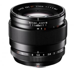 Fujifilm XF 23mm f/1.4R Zwart