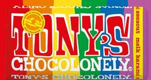 AH: Alle Tony Chocolonely repen €2,09