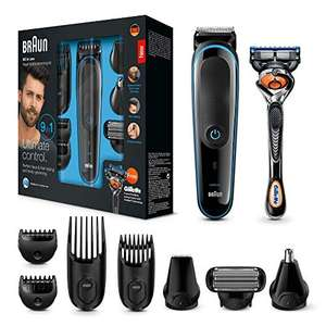 Braun MGK3085 9-in-1 Grooming-set @Amazon