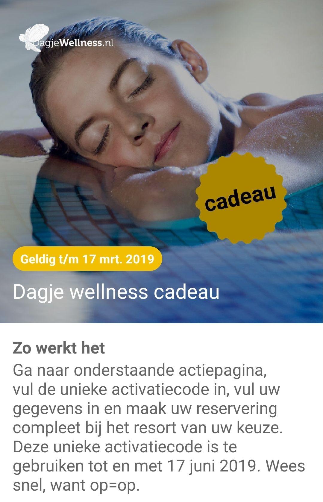 Gratis dagje Wellness via de ABN Amro &Meer app