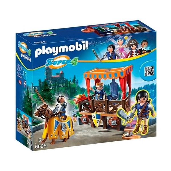 50% korting op Playmobil Koningstribune met Alex + Gratis LEGO setje