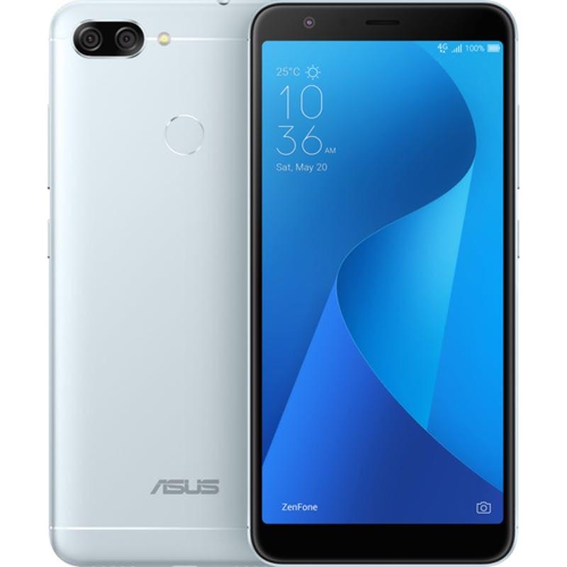 Asus ZenFone Max Plus M1 - 32GB, Zilver & Dual-sim @ Staples
