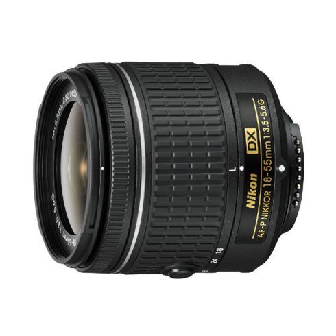 Nikon AF-P DX NIKKOR 18-55mm f/3.5-5.6G voor €89 @ Kamera Express