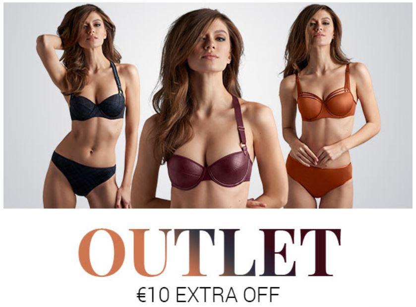 SALE tot -50% + €10 extra (geen min bestelwaarde) @ Marlies Dekkers