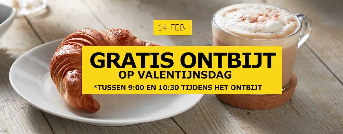 Gratis croissant + warme drank op Valentijnsdag @Ikea