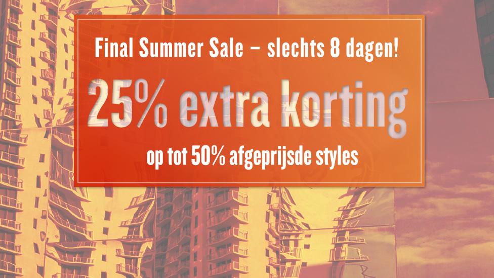Sale tot 50% + 25% extra korting @ Tom Tailor