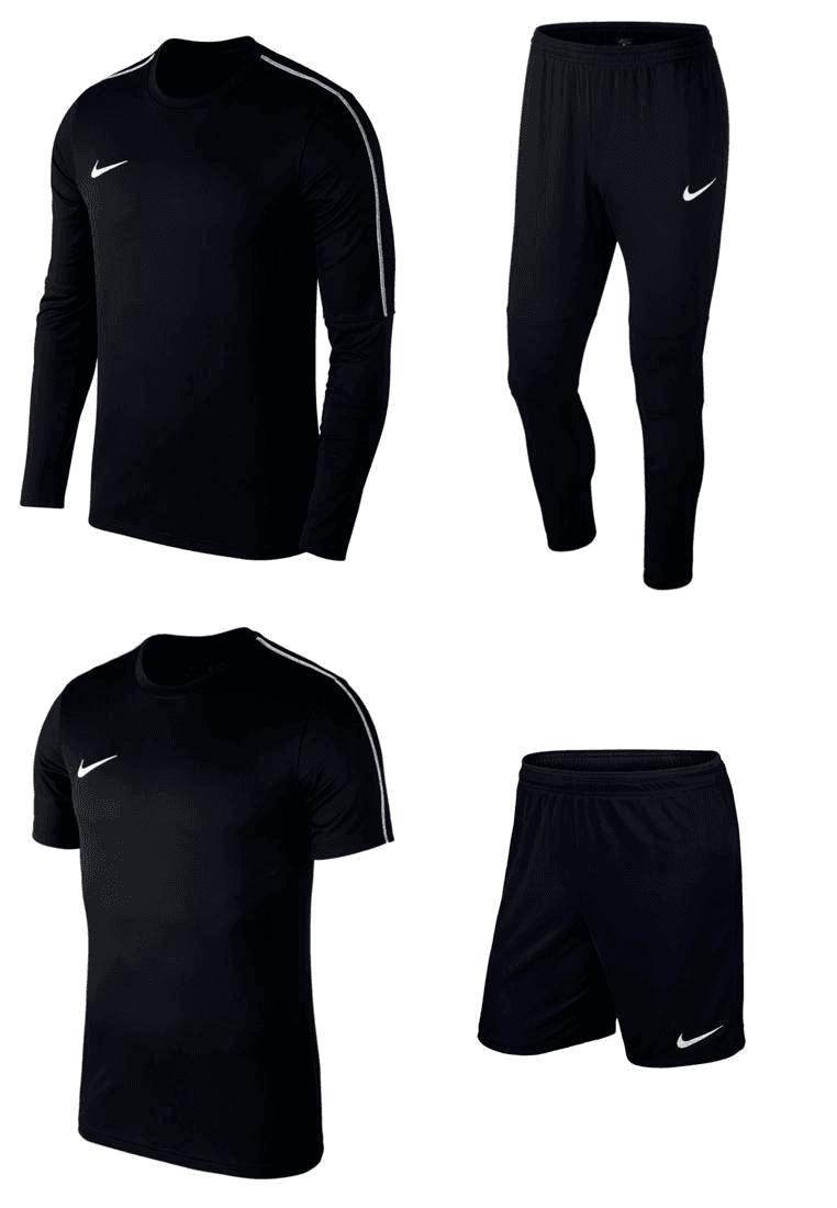 Nike trainingsset Park 18 4-delig -50% @ Geomix